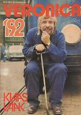 VERONICA 1972 nr. 35 - KLAAS VAAK/DAVID BLUE/CISKA PETERS/MAMA-LION