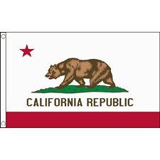 California Small Flag 3Ft X 2Ft American State Us America Californian Bear