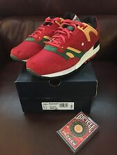 """Just Blaze X Saucony Grid SD """"Roulette"""" Red/Green-Yellow S70226-1 New/Ds Sz 8"""