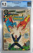 DC Comics Presents #49 Black Adam Shazam! Superman CGC Graded 9.2 NM-