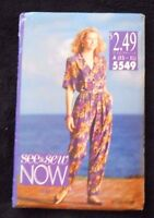 Butterick See & Sew 5549 Misses' Petite Shirt & Pants Size A (XS-XL) 1991 - New