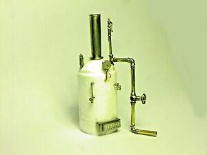 O/On30 1:48 highly detailed (hollow) Vertical Boiler Kit-cast resin & whitemetal
