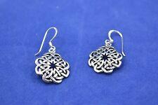 Sterling Silver (925) Celtic Style Earrings #8038