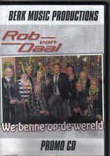Rob Van Daal-We Benne Op De Wereld Promo DVD