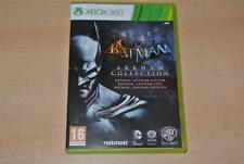 Batman Arkham Colección Xbox 360 asilo, ciudad & orígenes ** GRATIS UK FRANQUEO **