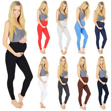 Maternity Leggings Full Ankle Length Classic Cotton 195GSM V1