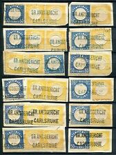 Germany - Fiscal / Revenue Stamps  of  Baden ( 1875 )