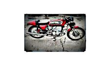 1975 Bmw 750 Bike Motorcycle A4 Photo Poster