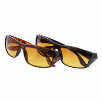 2 Pack HD Vision Readers Bifocal Sunglasses As Seen on TV Choose Color and Power