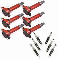 Performance Ignition Coil & NGK Spark Plug Kit 12 Piece Set for Chrysler Dodge