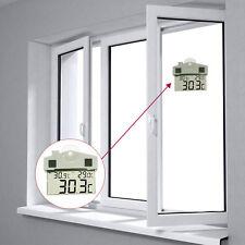 Transparente LCD Digital Thermometer Hygrometer Indoor Outdoor Wetterstation