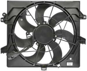Auxiliary Fan Assembly For 2013-2017 Hyundai Veloster 1.6L 4 Cyl Turbocharged