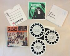 Vintage View-Master Detroit Zoo Michigan Stereo Pictures GAF Packet A 581