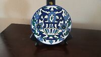 "Handpainted 7"" Decorative Mexican Plate/Hanger"
