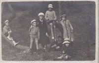 Francia Soulac Gironda 9 Petites Foto Amateur Famille Vintage Analogica 1917