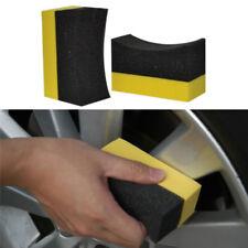 Auto Wheels Brush Sponge Tools Applicator Tire Hub Cleaning Waxing Polishing C6