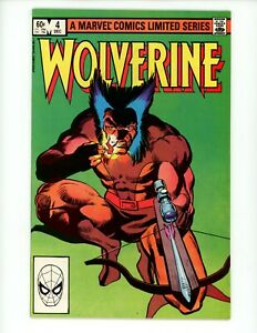Wolverine#4 1982 VF+ Limited Series 4 or 4 Frank Miller and Chris Claremont