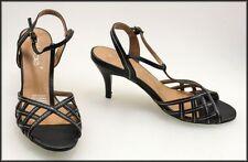 Open Toe Medium (B, M) Synthetic Cuban Heels for Women