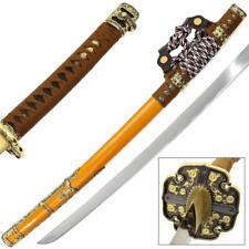 1045 Carbon Steel Hand Forged Deluxe Tachi Functional Katana Samurai Sword .