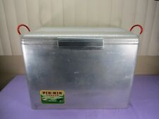 Vintage Cronstrom's Pik-Nik Aluminum Camp Cooler Ice Box 1950/60's -Very Clean-