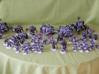 WARHAMMER 40K CHAOS SPACE MARINE /DEATHGUARD ARMY -  MANY UNITS TO CHOOSE FROM