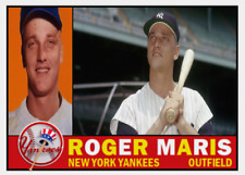 ROGER MARIS 1960 ACEO ART CARD ## BUY 5 GET 1 FREE ## FREE COMBINED SHIPPING