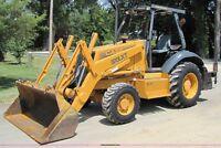 Case 570LXT Landscaper Series 2 Loader Backhoe Tractor Operators Manual Owner CD