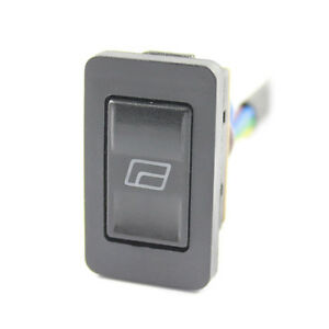 Electric Window Switch - LED Illuminated - Pre Wired Car / Van / Universal