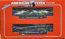 American Flyer #6-48507 U.S. Army Flat Cars With Tanks-New In Original Box