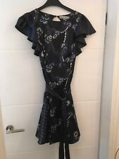 Beautiful Celia Birtwell For Topshop Dress Uk 10 Excellent Condition