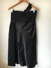 Evening Occasion Dress Size 16 Scarlett Nite One Shoulder Black  <T12265