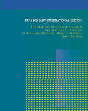 Foundations of Clinical Research: Pearson New International Edition:...