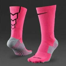 Nike Soccer Crew Socks NWT Sz M Pink/Black/Grey