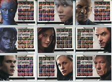 X Men 3 The Final Stand Complete Casting Call Chase Card Set CC1-16