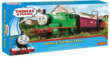 "Hornby 00 Gauge ""Thomas And Friends"" Percy & The Mail Train Set c/w DVD."