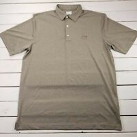 Greg Norman Play Dry Golf Polo Mens Large Performance Stretch Short Sleeve P122