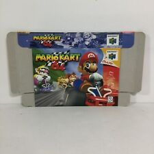 Mario Kart 64 BOX ONLY! ( Nintendo 64 ) N64 NO GAME INCLUDED!
