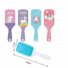 Cute Unicorn Animal Anti-static Hair Brush Massage Comb Shower Wet Detangle