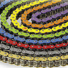 Orange HD 520 X-ring 120 link chain motorbike motorcycle c/w rivet & split links