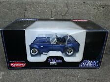 Kyosho Shelby Cobra 427 S/C 1:18 Scale Diecast Car Ford Mustang Blue