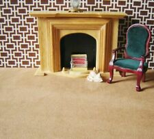 "dolls house carpet to clear, Biscuit.. 15"" x 13.5"""