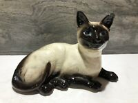 "Beswick England Siamese Cat 1559 Vintage Ceramic Figurine Statue 6.5"" X 4.5"""