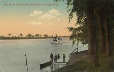 Vapeur Ile de la Commune BERTHIER-EN-HAUT Quebec 1907-13 Dr C. Lafontaine