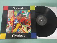 "November Chronicles Daniel Schreiber 1990 Spain Edition - LP vinyl 12 "" VG/VG"