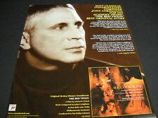 JOHN CORIGLIANO Academy Award for THE RED VIOLIN 2000 Promo Poster Ad mint cond