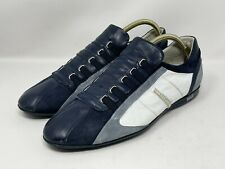Bagatto Made in Italy Leather Suede Sneakers Loafers Mens Sz EU 44 / US 10