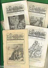 #T25.  ELEVEN  AUSTRALIAN SCHOOL MAGAZINES 1934 to 1943