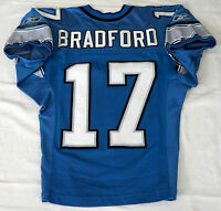 #17 Corey Bradford of Detroit Lions NFL Game Issued Player Worn Jersey