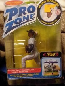 PRO ZONE Pedro Martinez Red Sox INTELLI-TRONIC Voice Activated Figure 2002 NIP