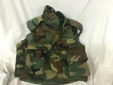 Woodland Camo Flak Jacket / Protective Vest  Size Medium